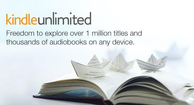 Kindle Unlimited - Picture via Amazon