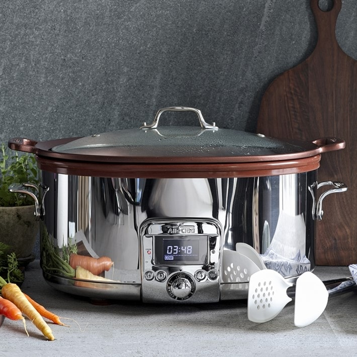 All-Clad Gourmet Slow Cooker with All-in-One Browning