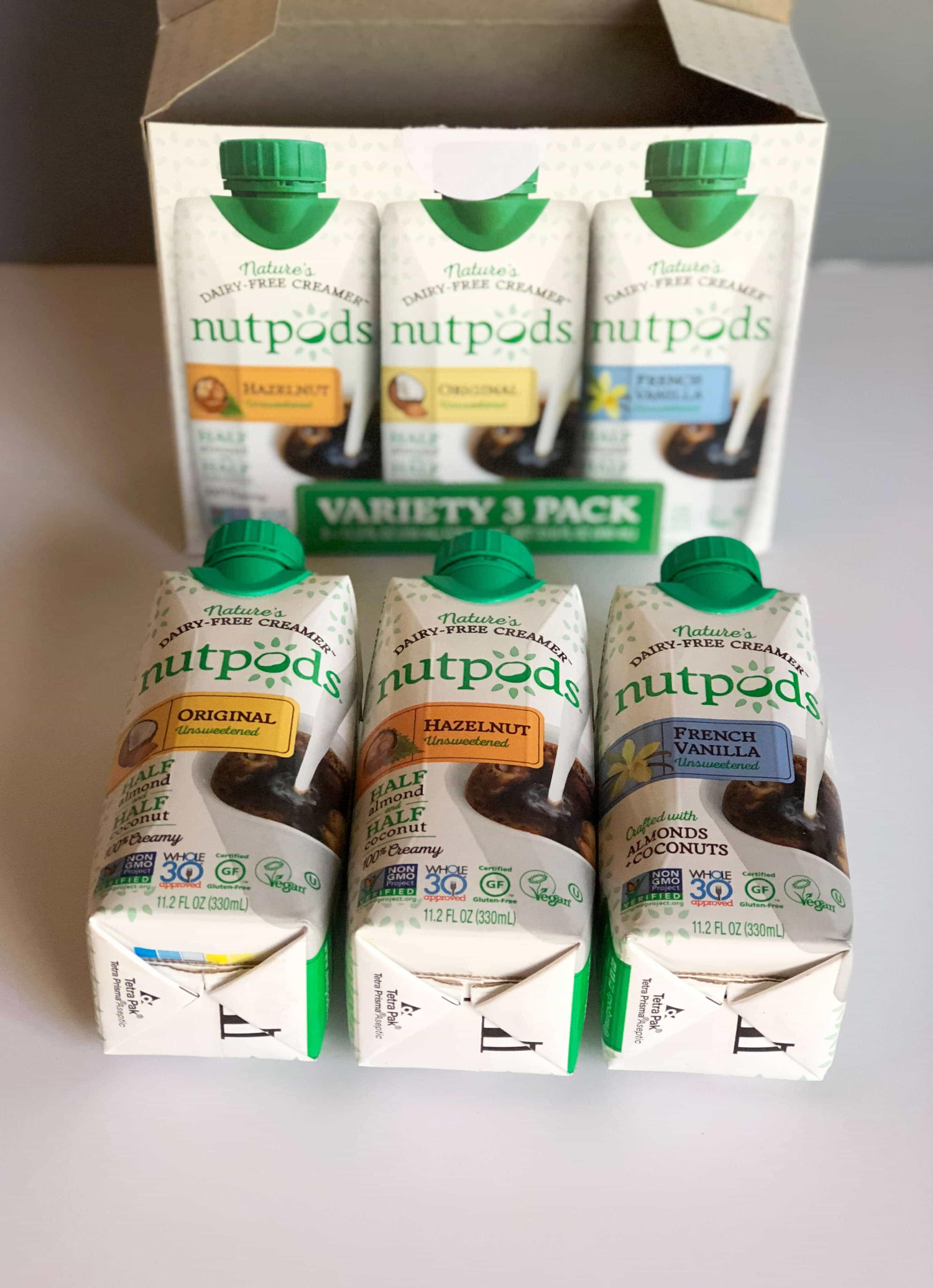 Nutpods - The Non-Dairy Creamer Alternative #saveeandsavory #review #nutpods #dairyfree #vegan #whole30 #kickstarter