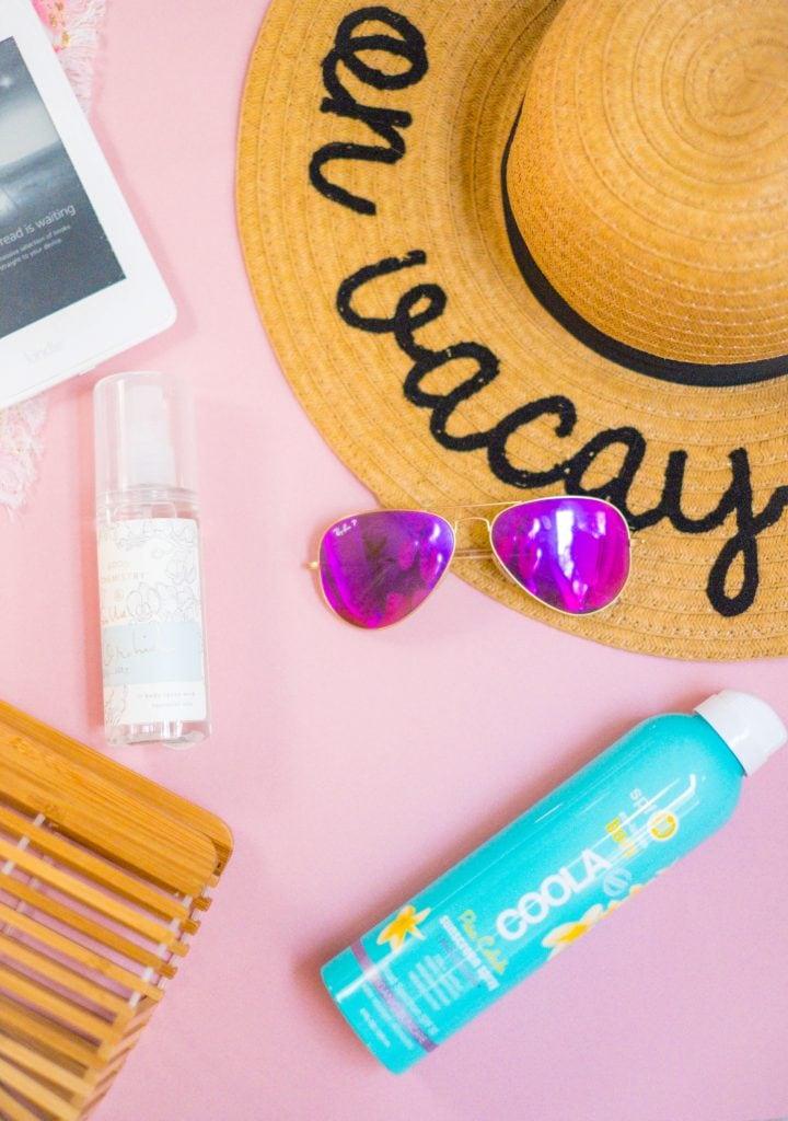 My Summer Beauty & Skincare Essentials #whatsavvysaid #summer #summerskincare #summerbeauty #beachessentials #caudalie #rayban #targetstyle #coola #bodymist