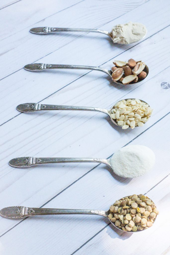 My Go To Protein Picks For Better Digestion #whatsavvysaid #betterdigestion #protein #plantprotein #bloating #activatednuts #plantbased #sproutedseeds #sproutedlentils #plantbasedprotein