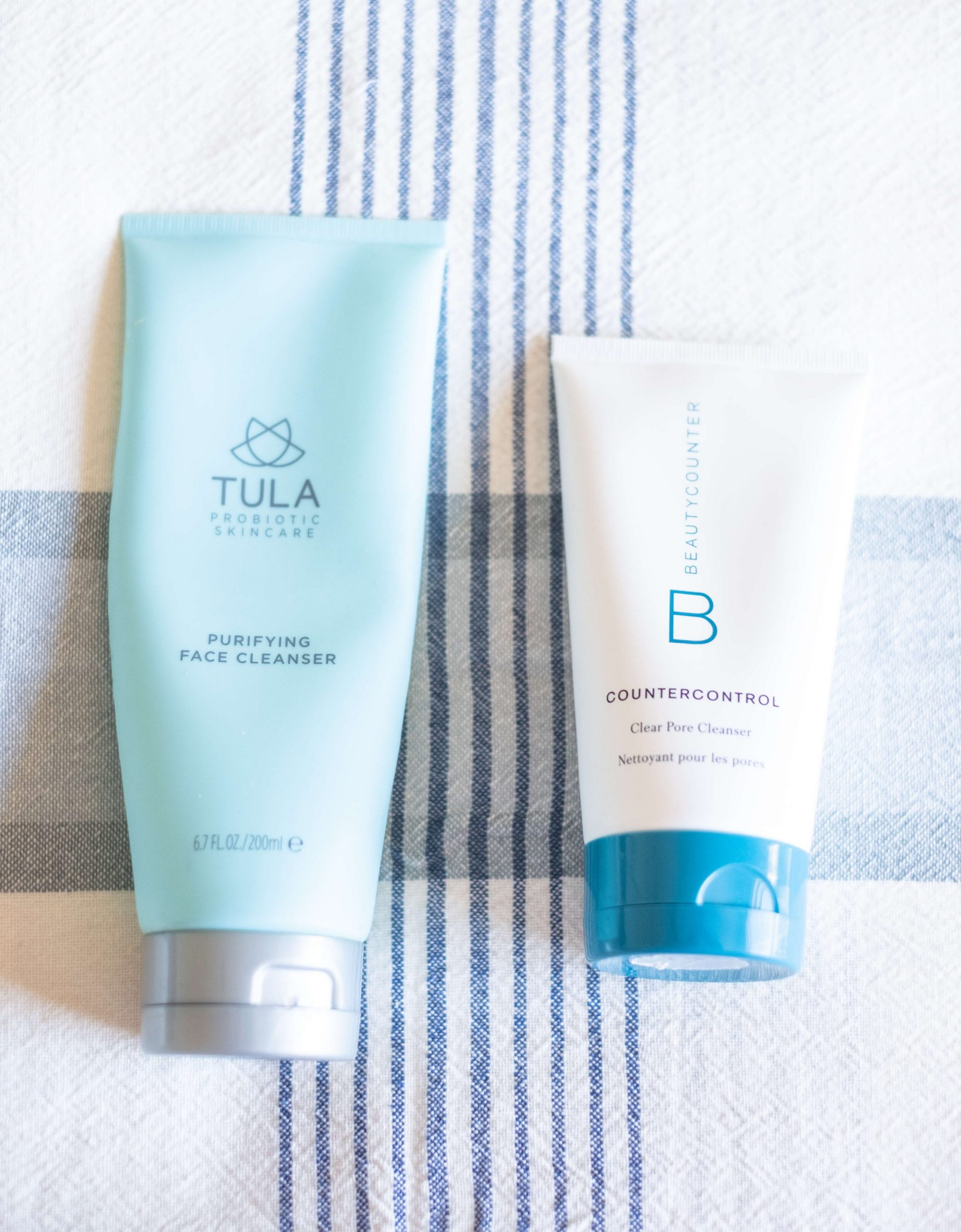 TULA'S PURIFYING CLEANSER VS BEAUTYCOUNTER'S COUNTERCONTROL CLEANSER #whatsavvysaid #tula #beautycounter #acneproneskin #cleanskincare