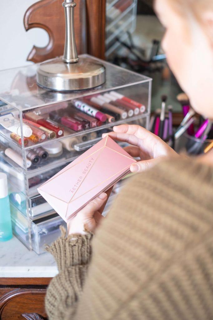Aether Beauty's Rose Quartz Crystal Palette Review | What ...Quartz Crystal Scam